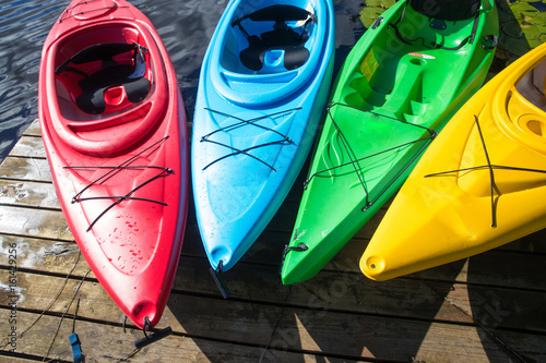 Fotografia Colorful Kayak