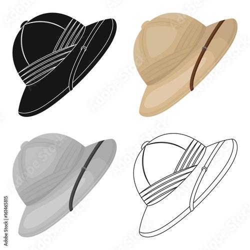 Cuadros en Lienzo Cork hat from the sun