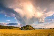 Landscape After A Storm With D...