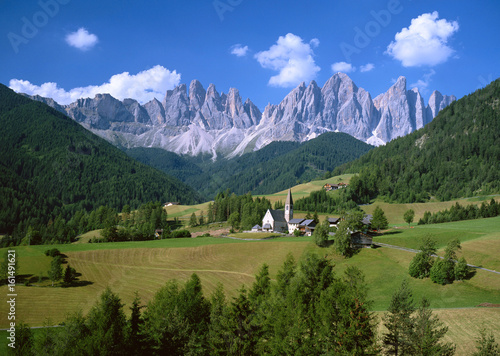 Fototapety, obrazy: Idyllic summer landscape in the Alps