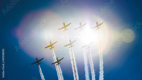 Zdjęcie XXL Air show - samoloty na tle nieba