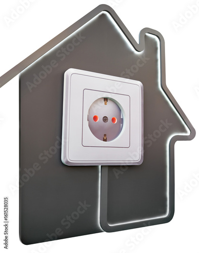 a110a6511ac9 Electrical outlet in house as symbol of comfort - Buy this stock ...