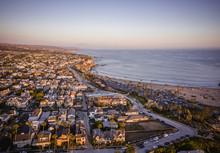 Aerial Of Newport Beach Corona...