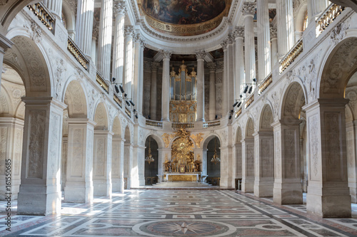 Foto op Canvas Monument Versailles - La chapelle royale
