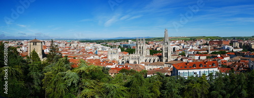 Panoramaaufnahme von Burgos