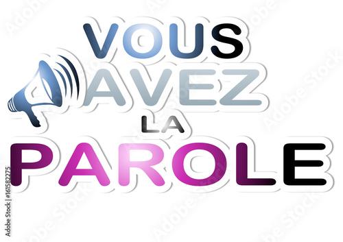 Vous Avez La Parole Buy This Stock Illustration And Explore Similar Illustrations At Adobe Stock Adobe Stock