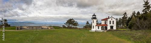 Admiralty Head Lighthouse, Fort Casey, Washington Wallpaper Mural
