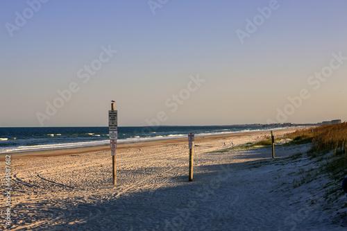 Fernandina Beach on Amelia Island FL on the Atlantic coast just south of the Georgia state line Wallpaper Mural