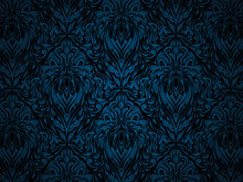 Blue Abstract Pattern.