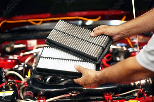 Fotografía  Engine air filters
