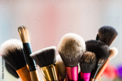 Fotomural brush for fashionable makeup or cosmetic