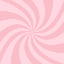 Swirl Background From Twisted Spiral Ray Stripes