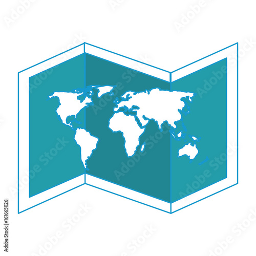 isolated world map icon vector graphic illustration - Buy