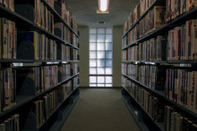 Stacks Of Books In Library In ...