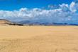 Southern Fuertevetura, beach of Sotavento. Fuerteventura. Canary Islands. Spain
