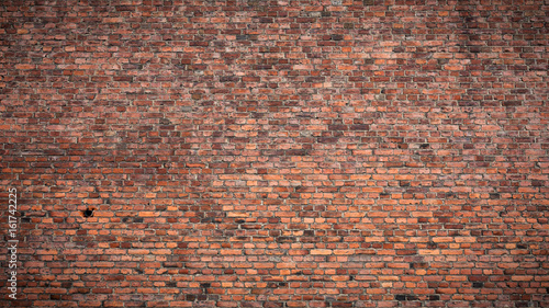 Deurstickers Baksteen muur Old brick wall texture background
