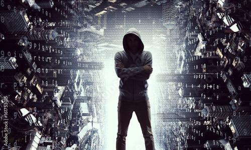 Naklejka premium Chroń swoją prywatność