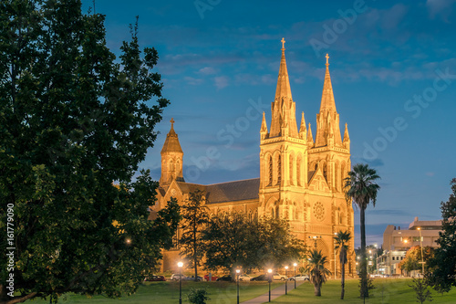 St. Peter's Cathedral of Adelaide Wallpaper Mural