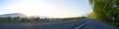 Leinwandbild Motiv morning road