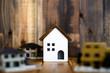 家イメージ 木目の板