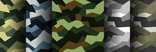 Vector Seamless Pattern Camouf...