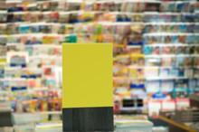 Blank Book Shop Display