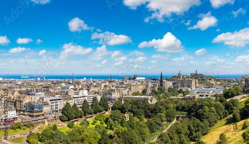 Obraz na dibondzie (fotoboard) Panoramiczny widok Edynburg, Szkocja