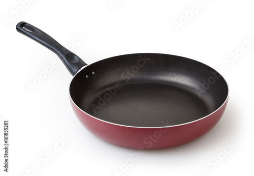 Fotomural  Frying pan isolated on white background with clipping path