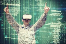 Military Soldier Using Virtual...