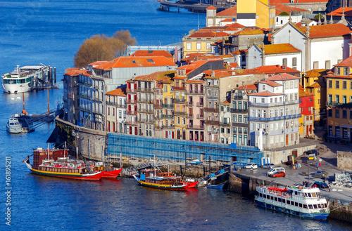 Fototapeta Porto. Aerial view of the city. obraz na płótnie