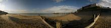 Panoram Of Cromer Beach With G...