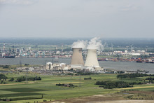 Aerial Image Of Nuclear Power ...
