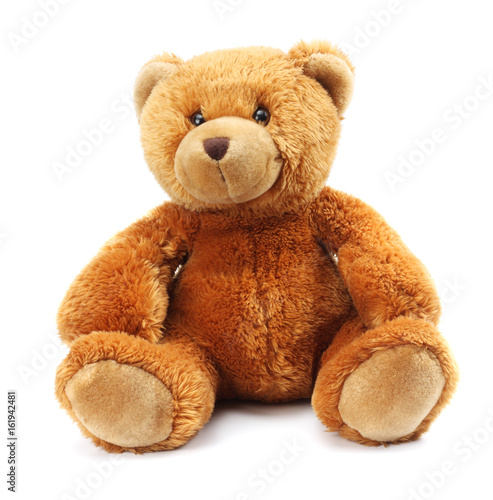 toy teddy isolated on white background #161942481