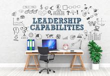 Leadership Capabilities / Office / Wall / Symbol