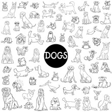 Dog Characters Large Collection