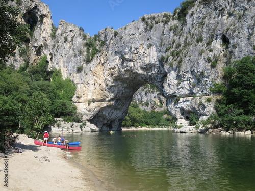 In de dag Rivier Vallon Pont d'Arc 1