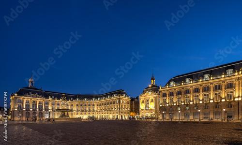 Place de Bourse in Bordeaux south west France