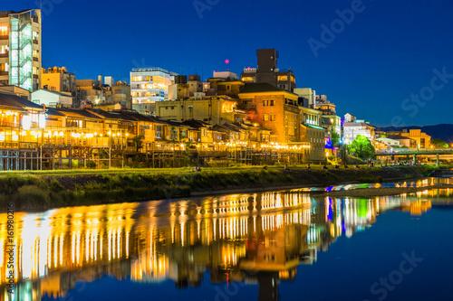 Foto op Plexiglas Kyoto 京都 鴨川納涼床