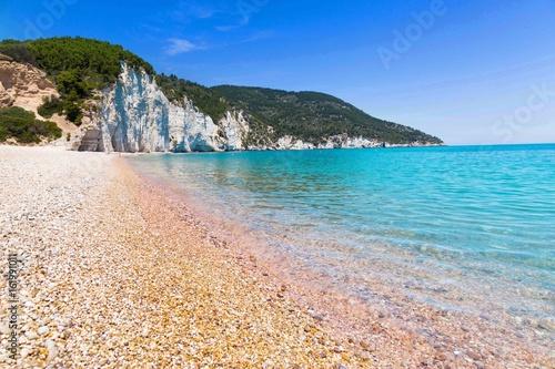 Foto op Plexiglas Indonesië The beach Vignanotica, coast Gargano Apulia, Italy