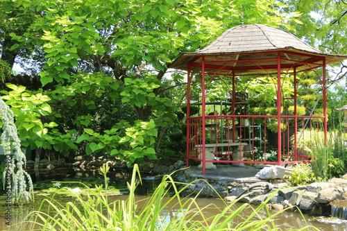 Asian Garden Asiatischer Garten Buy This Stock Photo And Explore