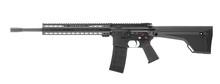 AR 15 Rifle Isolated On White Background Left