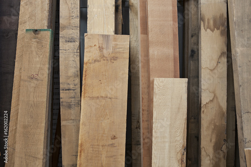 Wooden boards in workshop - 162002224