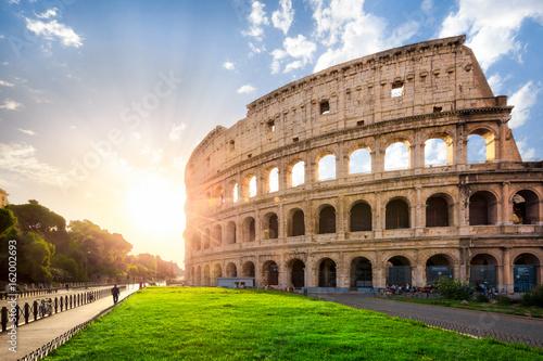 Fotografie, Tablou  Das Kolosseum in Rom, Italien
