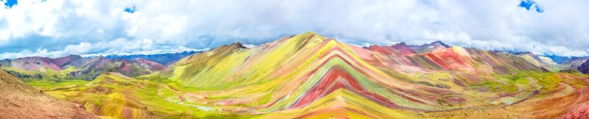 Vinicunca lub Rainbow Mountain, Pitumarca, Peru