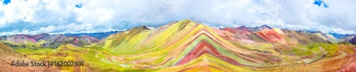 Poster Vinicunca or Rainbow Mountain,Pitumarca, Peru
