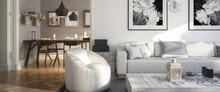 Ramgestaltung: Apartment (panoramisch)