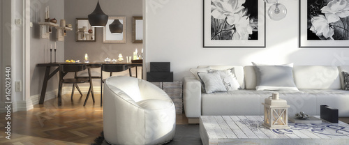 Photo Ramgestaltung: Apartment (panoramisch)