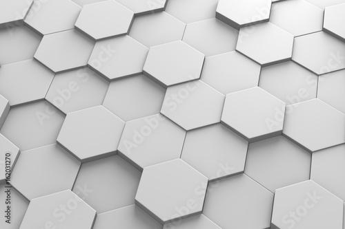 Hexagonal Tiles 3D Pattern – kaufen Sie diese Illustration und ...