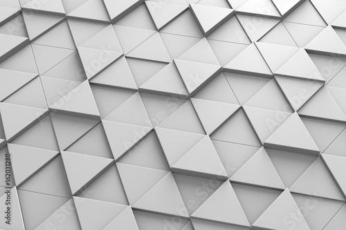 Triangular Tiles 3D Pattern