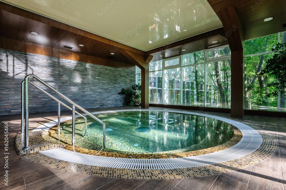 Fototapeta Big luxury hot tub